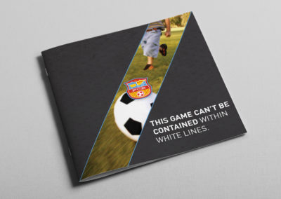 Football Club Brochure